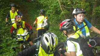 2014-10-11 Ecole Cyclo Geocaching-16