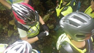 2014-10-11 Ecole Cyclo Geocaching-6