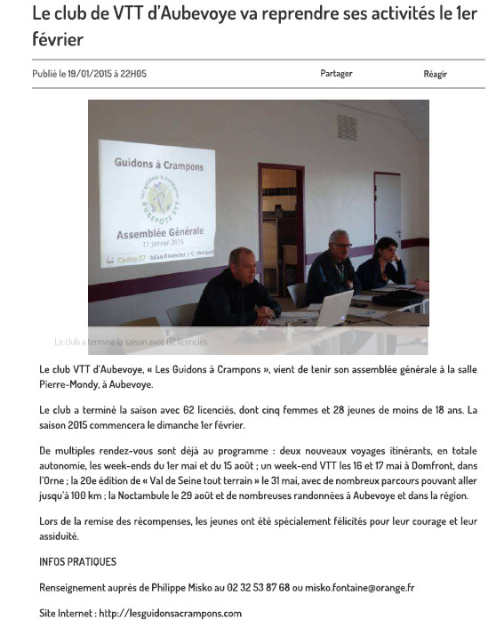 article ag 2015_paris normandie