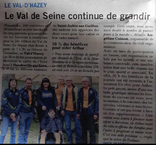 article vds-paris normandie